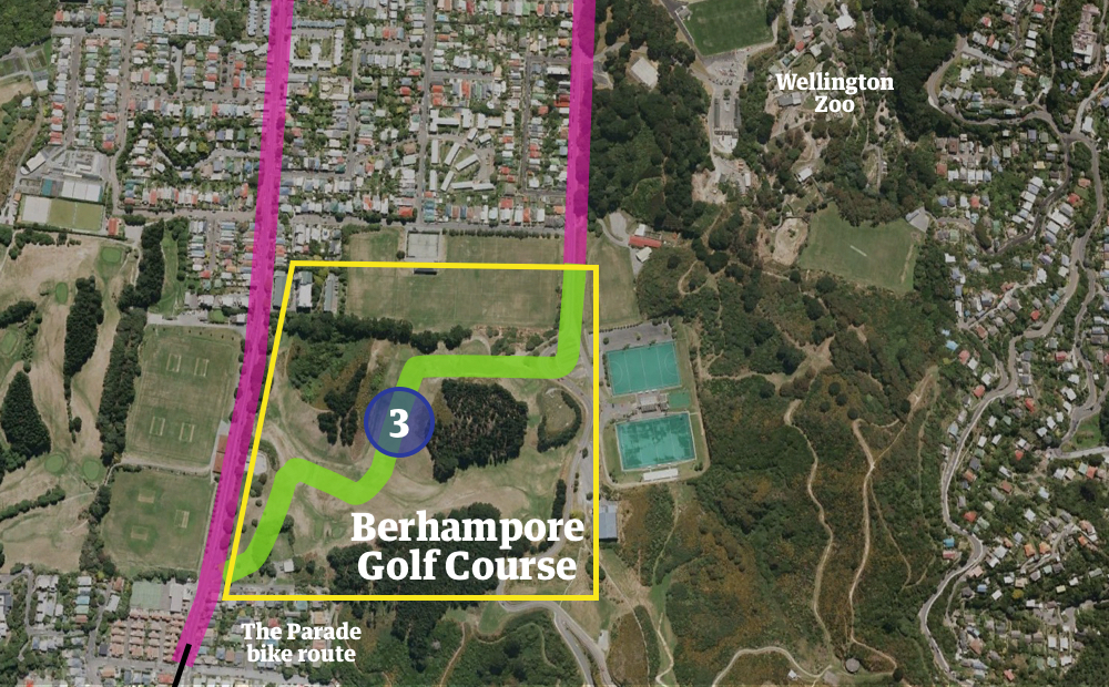 3 A Berhampore golf course